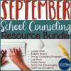 September School Counseling Resource Bundle