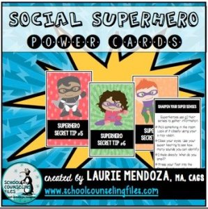 Social Superhero: Power Cards for Social Emotional Skills