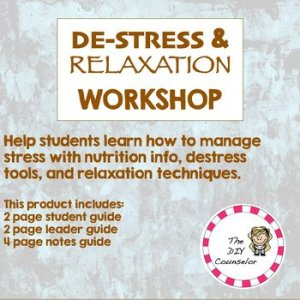 Destress and Relaxation