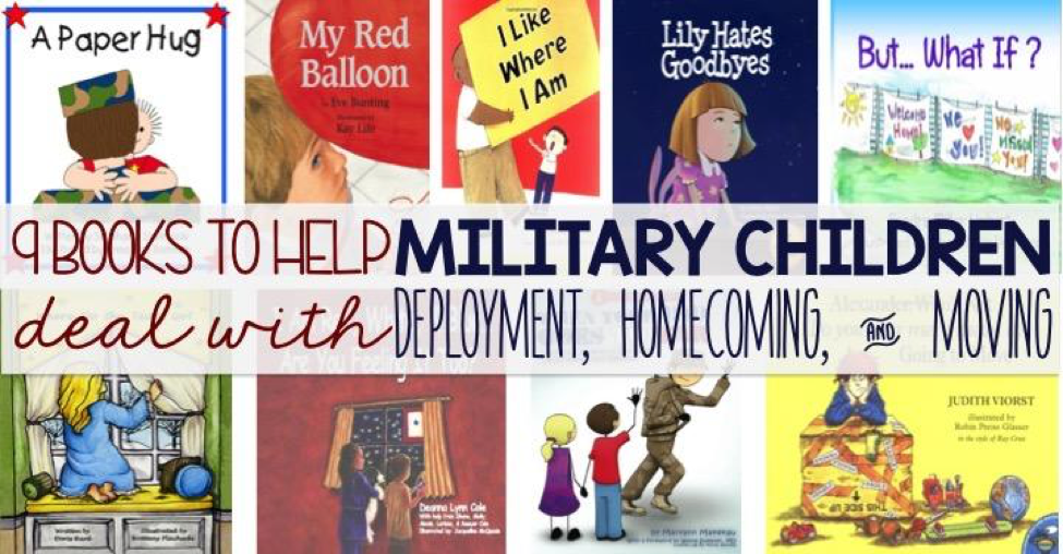 9 Books to Help Military Children
