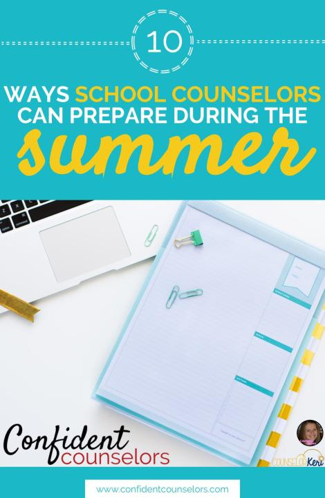 School Counselor Summer Prep