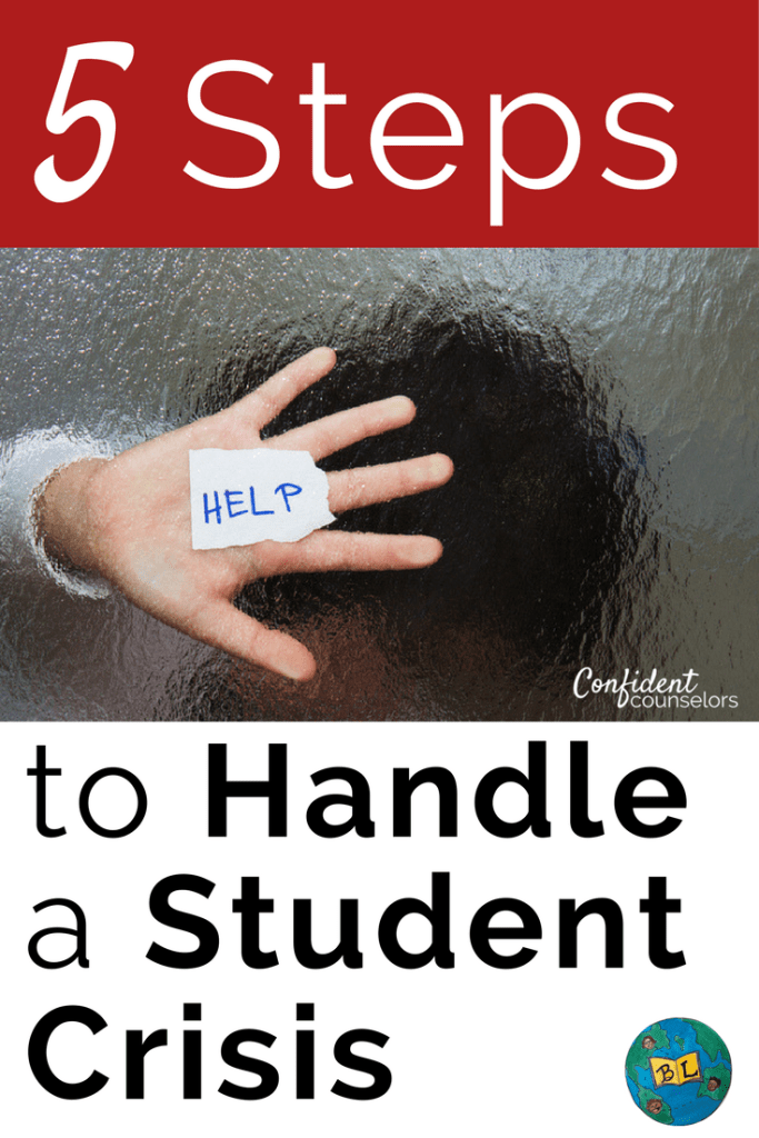 How to Handle a student crisis in 5 effective steps
