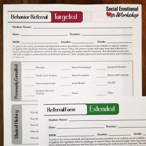 Referral Form for School Teams
