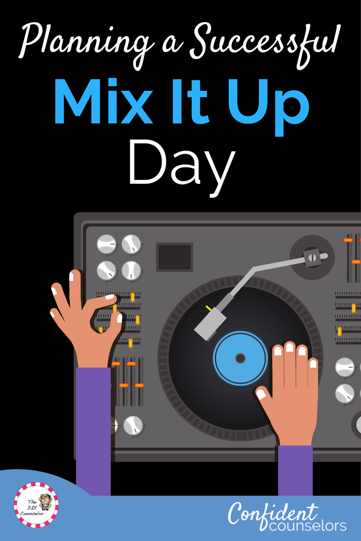 How to plan a successful Mix It Up at Lunch Day