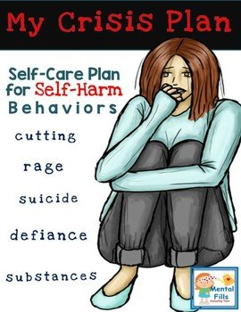 Self-care plan for self-harm behaviors