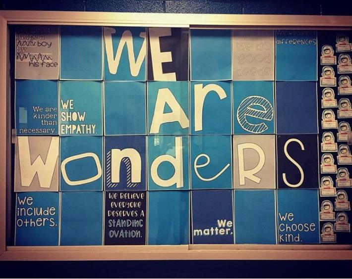 We are Wonders Bulletin Board