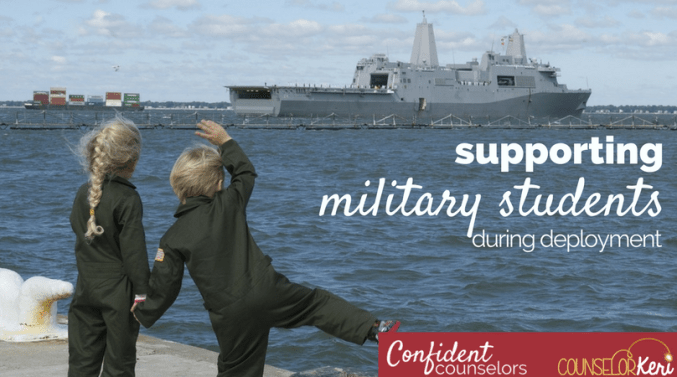 Do you have military students with a deployed parent? Set up systems within your school to ensure that you are supporting military students during deployment by being mindful of changes, creating supportive relationships, and making appropriate referrals.