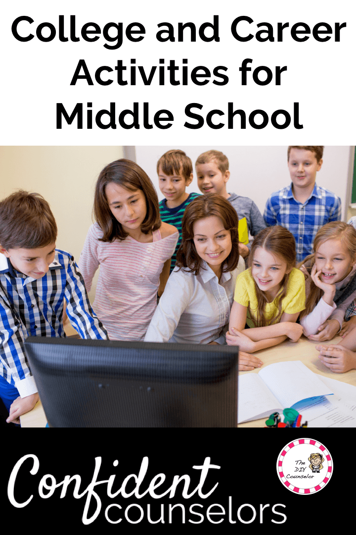 College and career activity ideas for Middle school students.