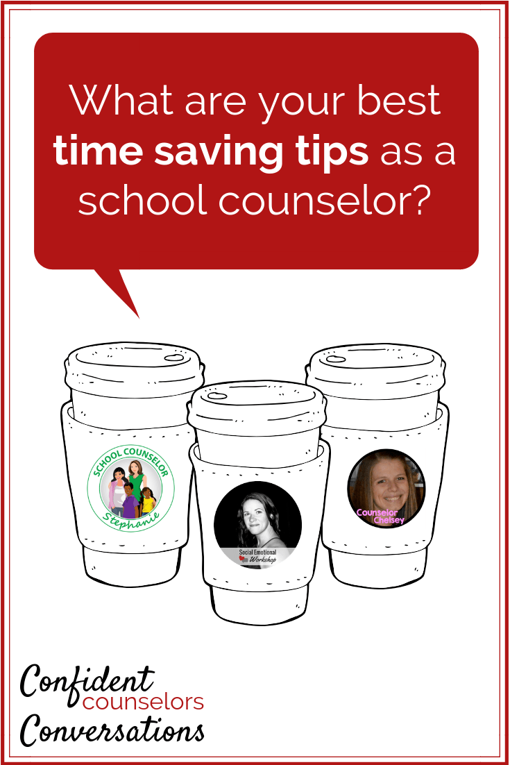 Save time as a school counselor by standardizing repeated tasks, batching, and maintaining your schedule. Check out these time savers for school counselors.
