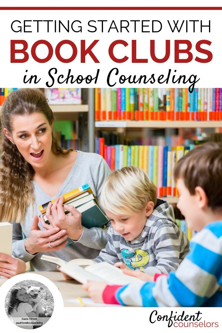5 ways tips for starting a book club as an elementary school counselor. Laura from Pawsitive School Counselor has 5 ways to get started with book clubs and perfect book suggestions.