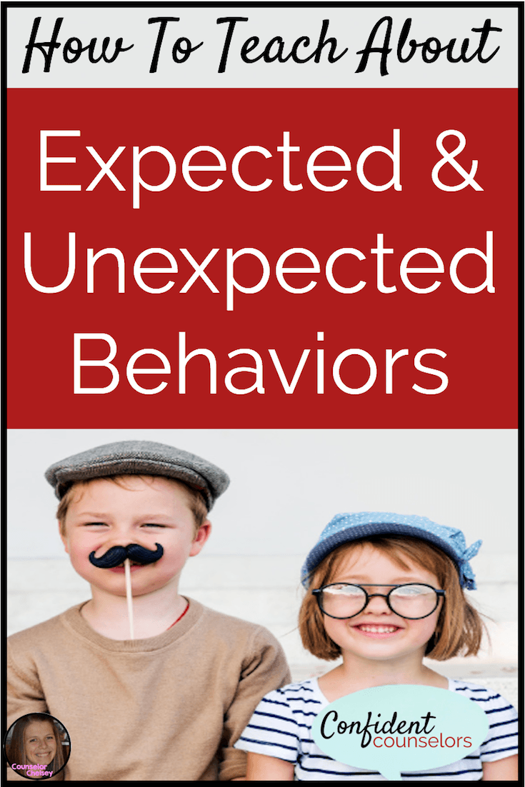 Help your students improve their behavior and realize how it affects others by teaching them about expected and unexpected behaviors!
