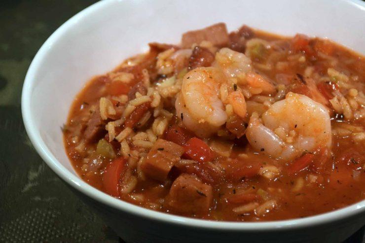 Shrimp Jambalaya Recipe-Confident in the Kitchen-Jean Miller