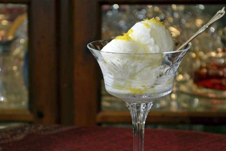 Lemon Sherbet Recipe-Confident in the Kitchen-Jean Miller