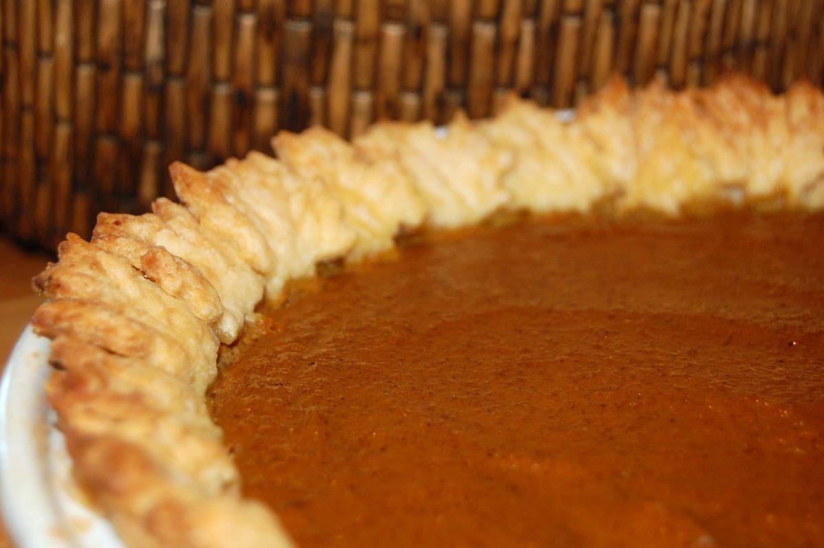 Autumn Leaf Pumpkin Pie Recipe