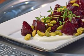 Baked Beets With Pistachios Recipe-Confident in the Kitchen-Jean Miller