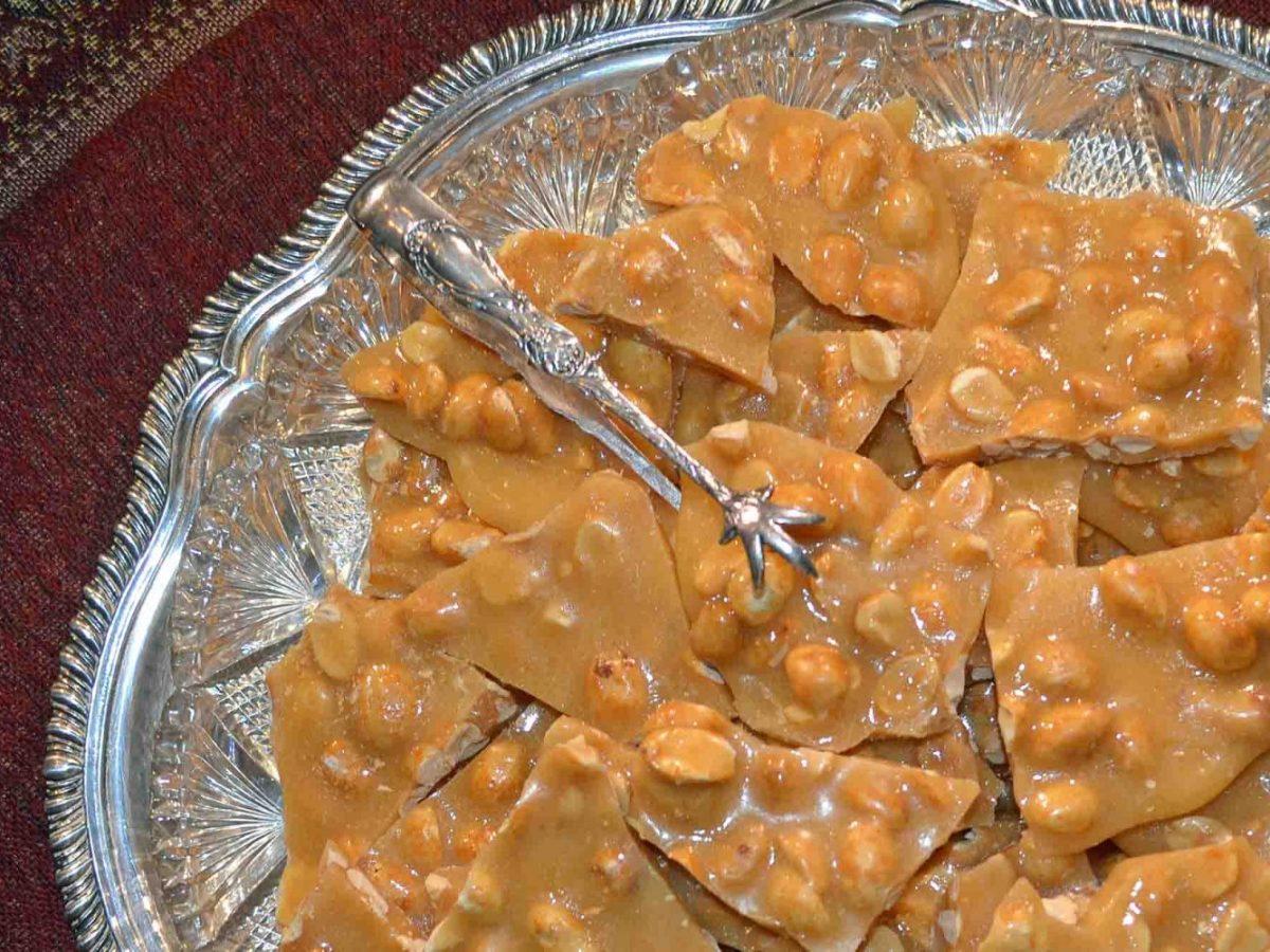 Peanut Brittle Recipe-Confident in the Kitchen-Jean Miller