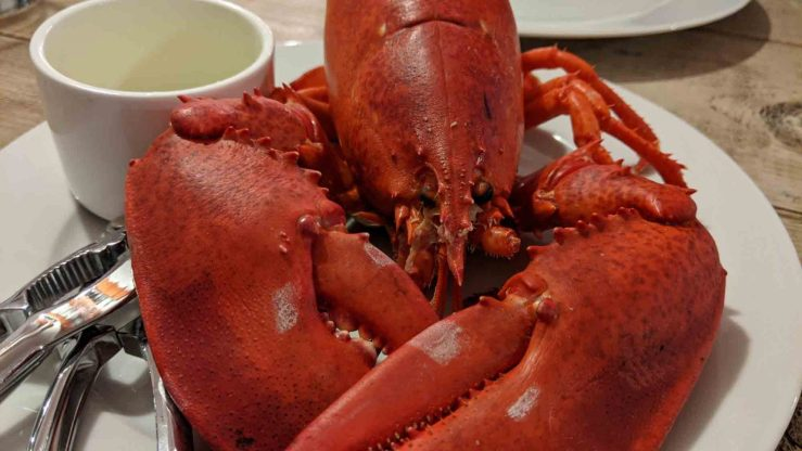 Seafood in Stonington