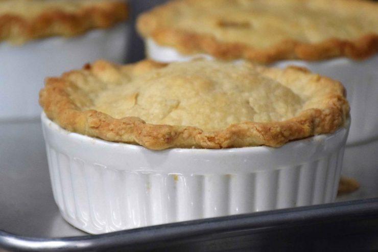 Chicken Pot Pies Recipe-Confident in the Kitchen-Jean Miller