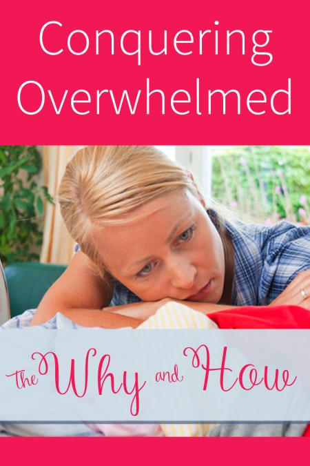 conquering overwhelmed pinterest
