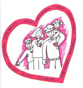 valentine family illust 001