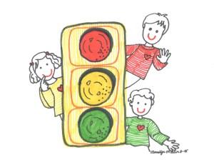 Traffic Light by Jennifer Miller