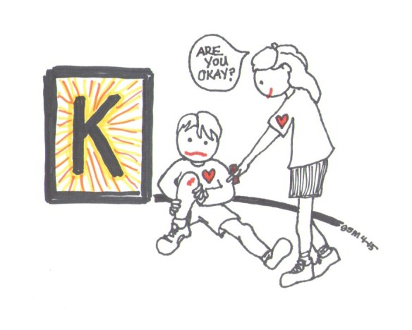 Elements of a Confident Kid...KIndness by Jennifer Miller