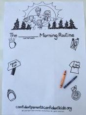 MorningRoutinePoster