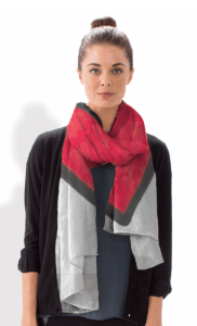 Confident Parents, Confident Kids Heart Scarf