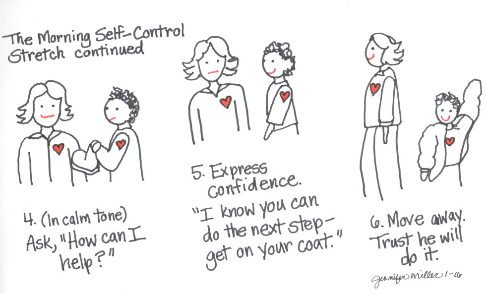 The Morning Self-Control Stretch Part Two by Jennifer Miller