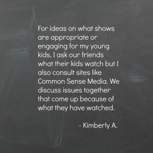 Kimberly A on Media