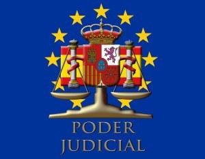 balanza de la justicia en el logo del PODER JUDICIAL
