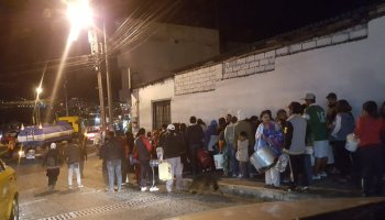 Sur de Quito sin agua
