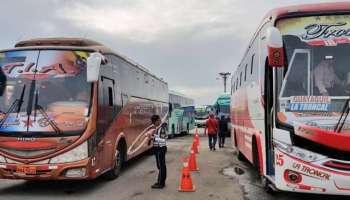 Operativo en los Terminales de Quito por feriado de Carnaval