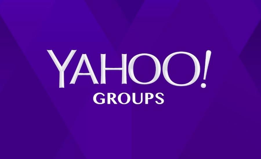 El contenido de la web Yahoo Grupos se borrará a partir