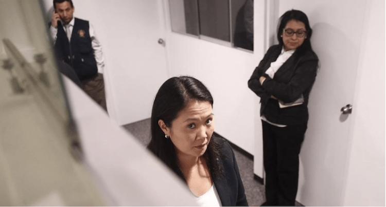 PERÚ: Anulan prisión preventiva de Keiko Fujimori. Saldrá libre el jueves