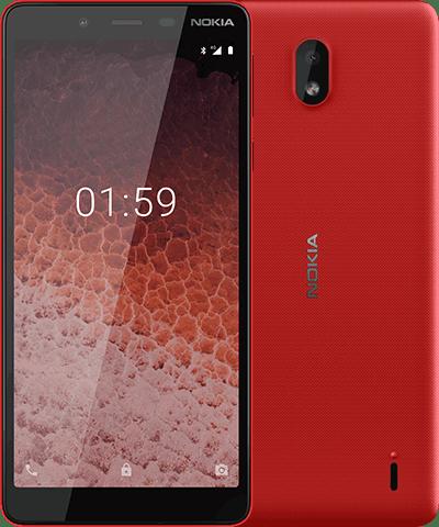 Nokia One Plus Red