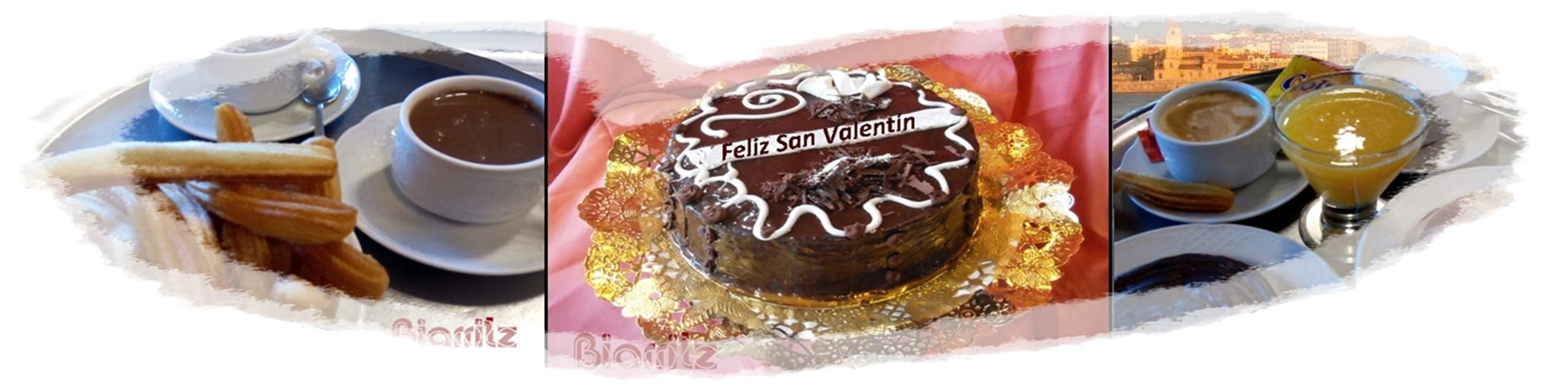 Y tú, qué prefieres, Tarta romántica o merienda para 2?