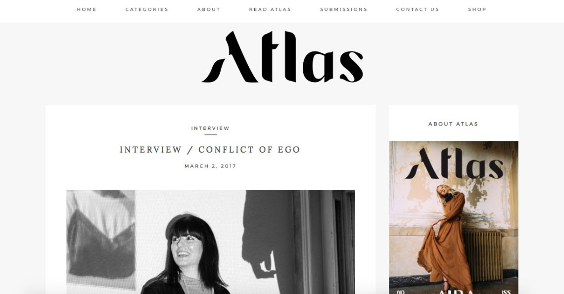 Press - Atlas Magazine Interview