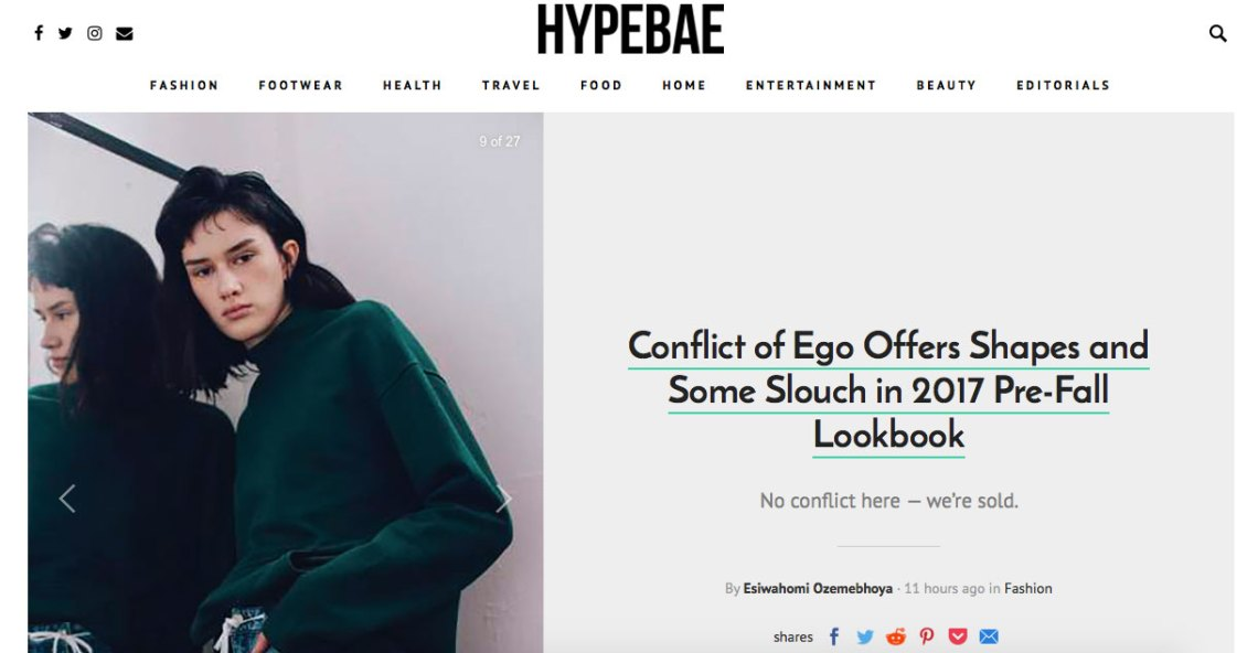 Press - HypeBae Pre-Fall Lookbook