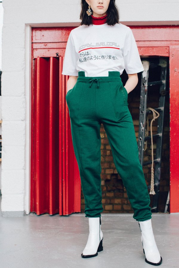 COE Jersey Cut Out Joggers