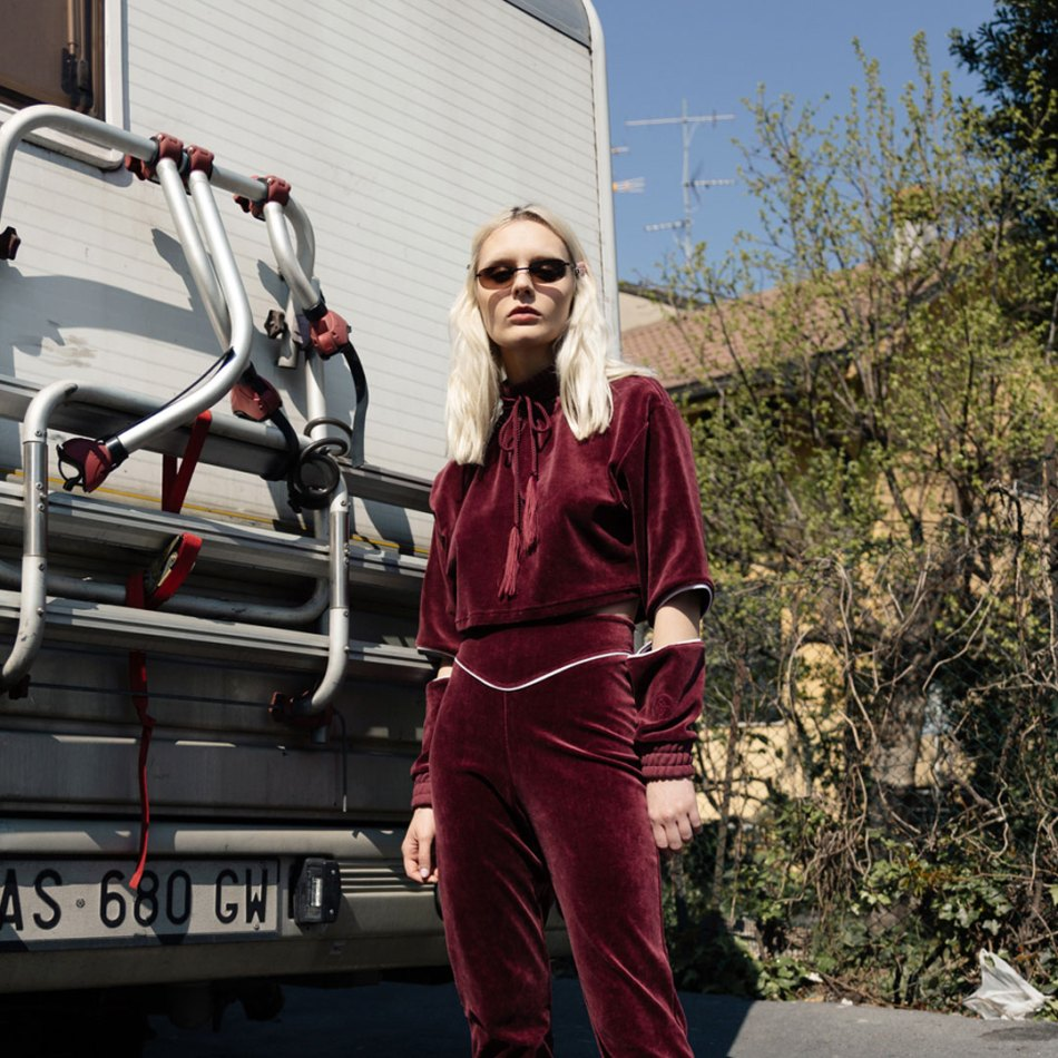PERL Velour Tracksuit