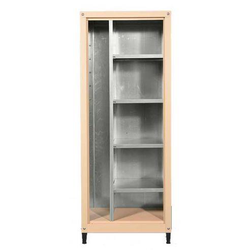 armoire metallique pour balcon et jardin 155 60 cm