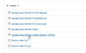 Eclipse(STS)のコードフォーマッターを使う
