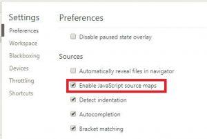 node.jsでminify(ミニファイ)するuglify-jsの使い方とminify(ミニファイ)されたソースのデバッグ方法