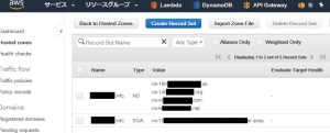 AWS Route 53の使い方