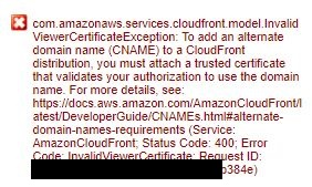 AWS Route53で取得した独自ドメインをCloudFrontに紐づける