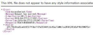 AWS S3の期限付きURLを作成し、S3にあるファイルをダウンロードする