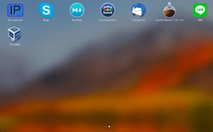 MacのLaunchpadでアプリケーションを起動する使い方