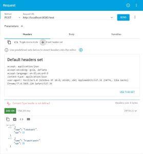 Spring BootのRestControllerでJSON形式を返す方法