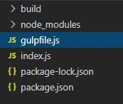 gulp,gulp-installでsave-devを除いたnode_modulesをインストールする